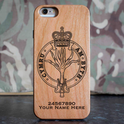 Welsh Guards Crest Phone Case