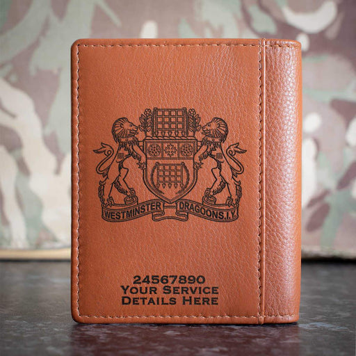 Westminster Dragoons Credit Card Wallet