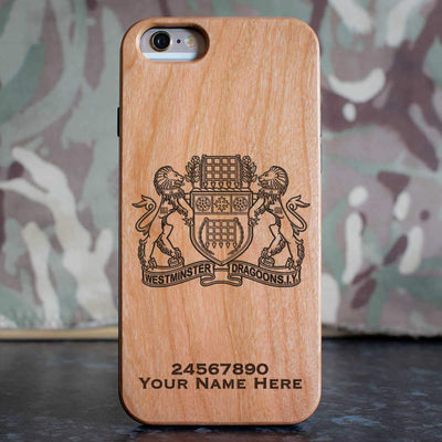 Westminster Dragoons Phone Case