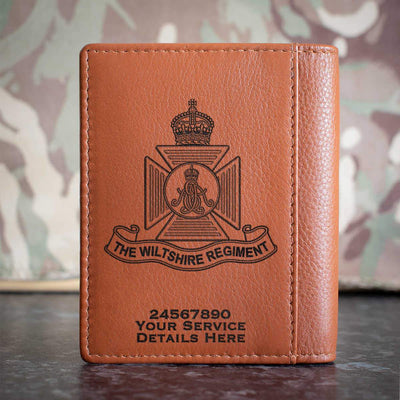Wiltshire Regiment (Kings Crown) Credit Card Wallet