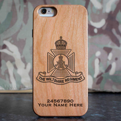 Wiltshire Regiment (Kings Crown) Phone Case