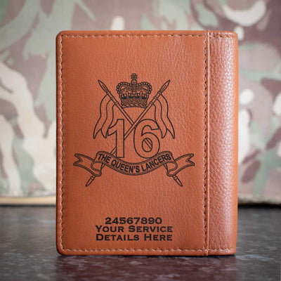 16th5th Queens Royal Lancers Credit Card Wallet