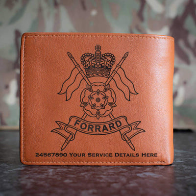 Yorkshire Yeomanry Leather Wallet