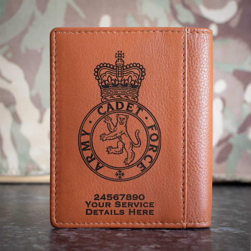 Army Cadet Force Credit Card Wallet