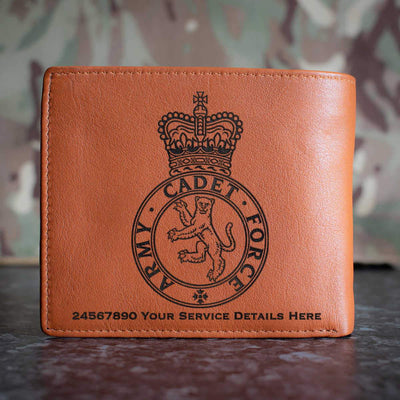 Army Cadet Force Leather Wallet