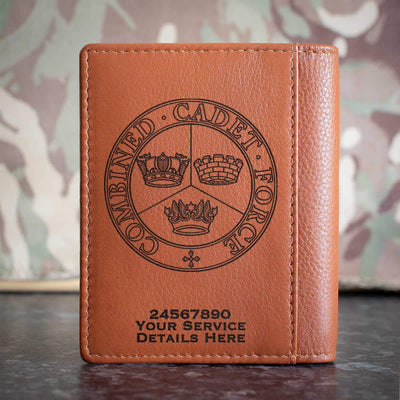 Combined Cadet Force Credit Card Wallet