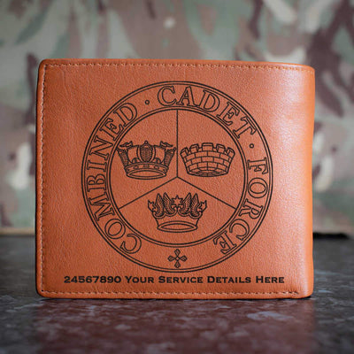 Combined Cadet Force Leather Wallet