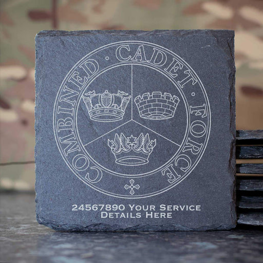 Combined Cadet Force Slate Coaster
