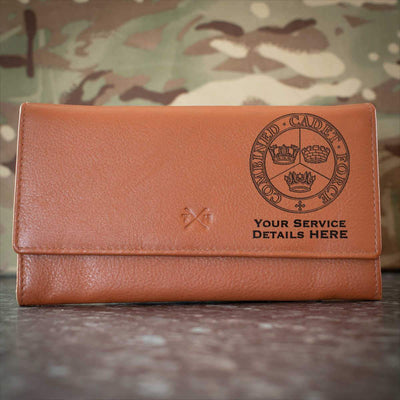 Combined Cadet Force Leather Purse