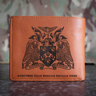 Cranwell College Coat of Arms Leather Wallet