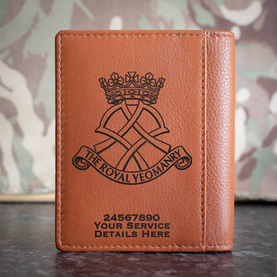 Royal Yeomanry Credit Card Wallet