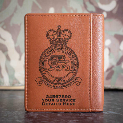 RAF Cambridge University Air Squadron Credit Card Wallet