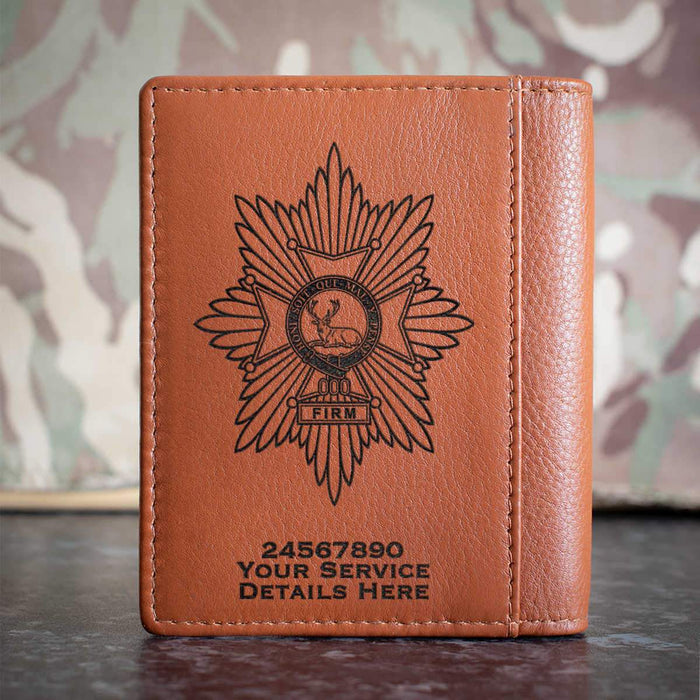 Worcestershire and Sherwood Foresters Credit Card Wallet