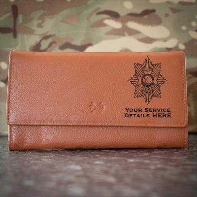 Worcestershire and Sherwood Foresters Leather Purse