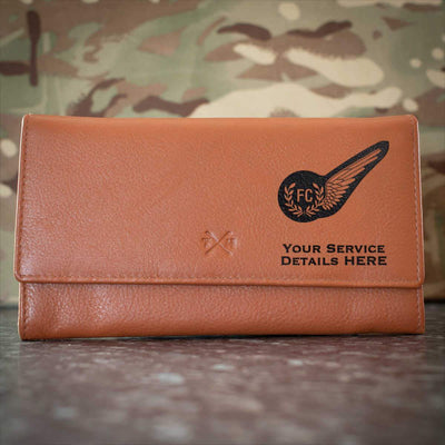 RAF Fighter Controller Brevet Leather Purse
