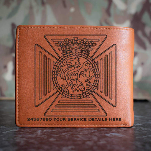 Duke of Edinburghs Royal Regiment Leather Wallet
