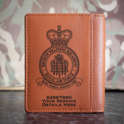 RAF Recruit Training Squadron Credit Card Wallet