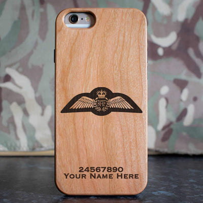 RAF Remote Piloted Air System Pilot Brevet Phone Case