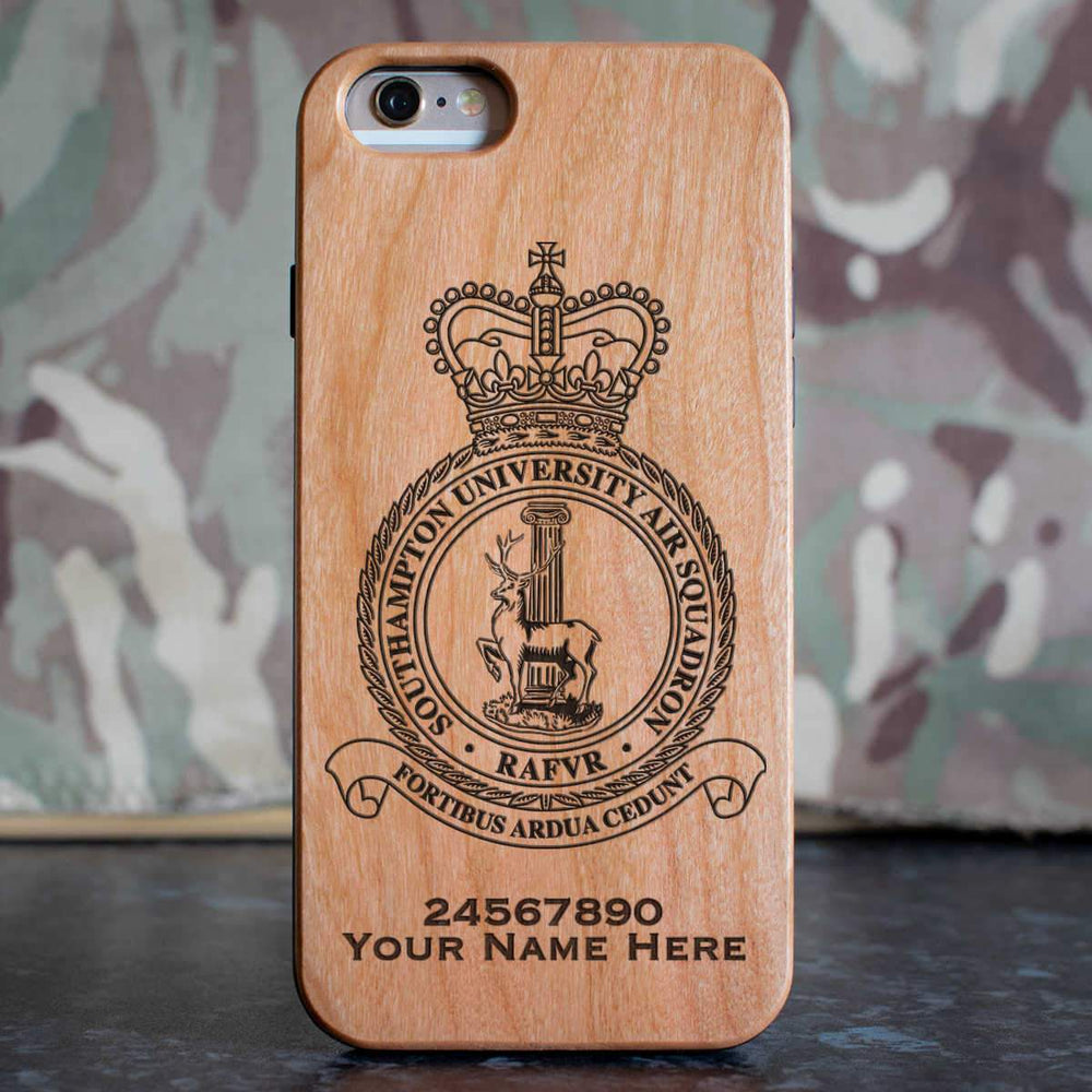 RAF Southampton University Air Squadron Phone Case