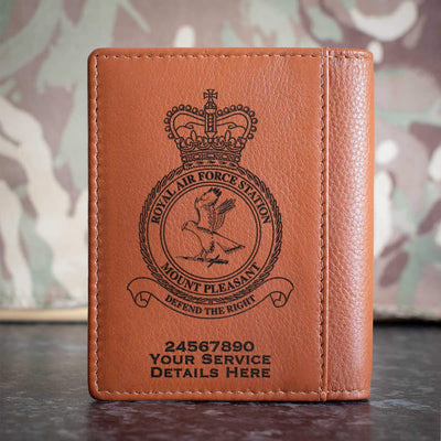 RAF Station Mount Pleasant Credit Card Wallet