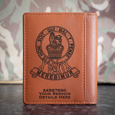 15th19th Kings Royal Hussars Credit Card Wallet