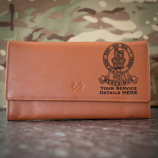 15th19th Kings Royal Hussars Leather Purse