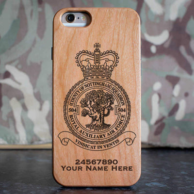 RAuxAF 504 (Country of Nottingham) Squadron Phone Case