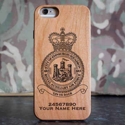 RAuxAF 603 (City of Edinburgh) Squadron Phone Case