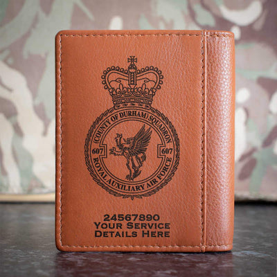 RAuxAF 607 (Country of Durham) Squadron Credit Card Wallet