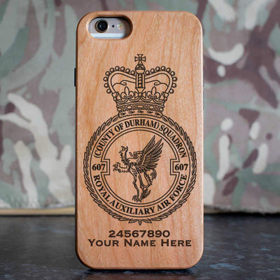 RAuxAF 607 (Country of Durham) Squadron Phone Case