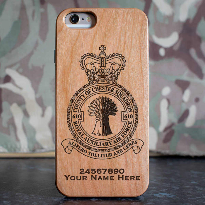 RAuxAF 610 County of Chester Squadron Phone Case