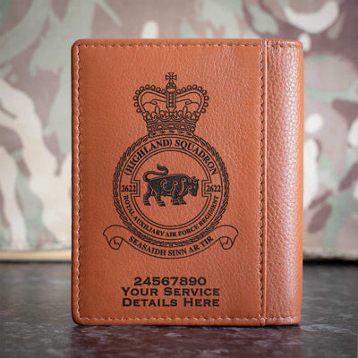 RAuxAF 2622 (Highland) Squadron Credit Card Wallet