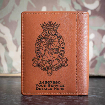 Royal Wessex Yeomanry Credit Card Wallet