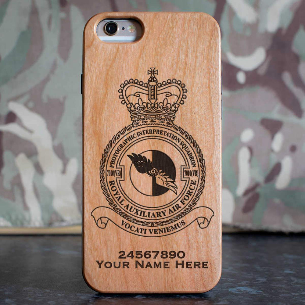 RAuxAF 7010(VR) Photographic Interpretation Squadron Phone Case