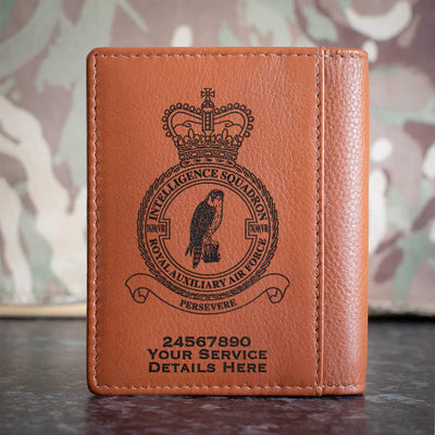 RAuxAF 7630(VR) Intelligence Squadron Credit Card Wallet