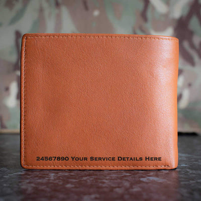 RAuxAF 7644(VR) Public Relations Squadron Leather Wallet
