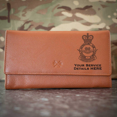 Royal Auxiliary Air Force Crest Leather Purse