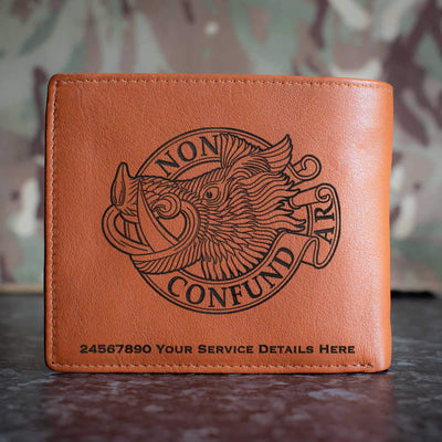 Aberdeen University Officers Training Corps Leather Wallet