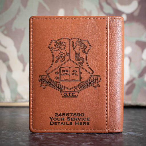 Birmingham University Officer Training Corps Credit Card Wallet