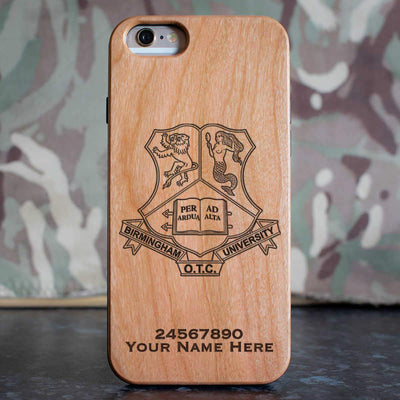 Birmingham University Officer Training Corps Phone Case