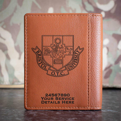 Bristol University Officers Training Corps Credit Card Wallet