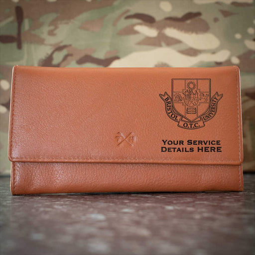 Bristol University Officers Training Corps Leather Purse