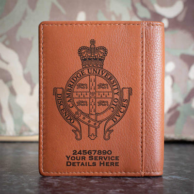 Cambridge University Officers Training Corps Credit Card Wallet