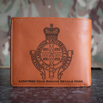 Cambridge University Officers Training Corps Leather Wallet