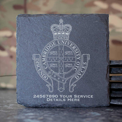 Cambridge University Officers Training Corps Slate Coaster