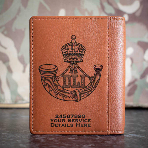 Durham Light Infantry Credit Card Wallet