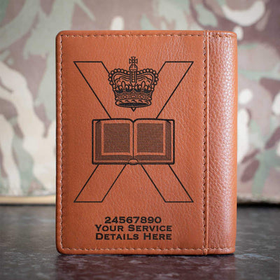 Edinburgh University Officers Training Corps Credit Card Wallet
