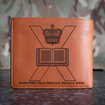 Edinburgh University Officers Training Corps Leather Wallet