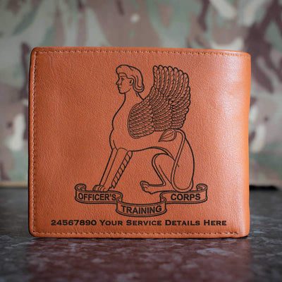 Leeds University Officers Training Corps Leather Wallet