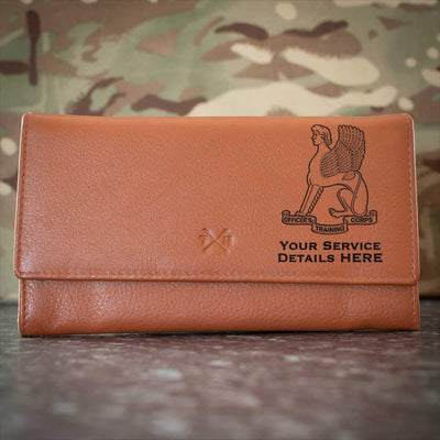 Leeds University Officers Training Corps Leather Purse